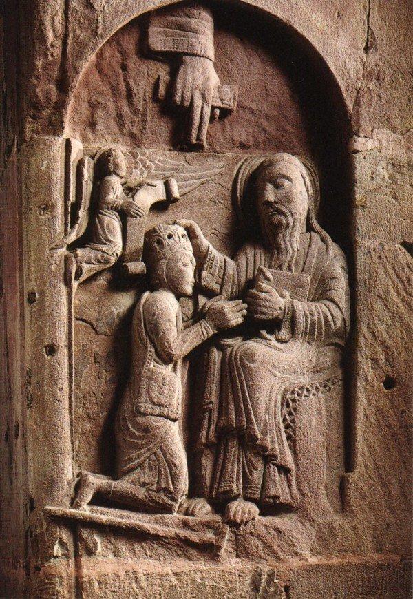 Le couronnement du pèlerin (Freiburg  I.B)
